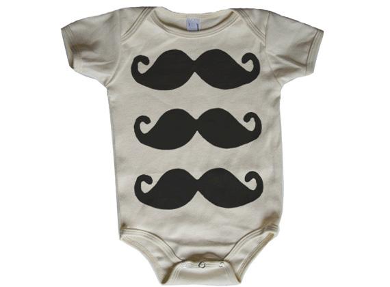 Mustache_onesie