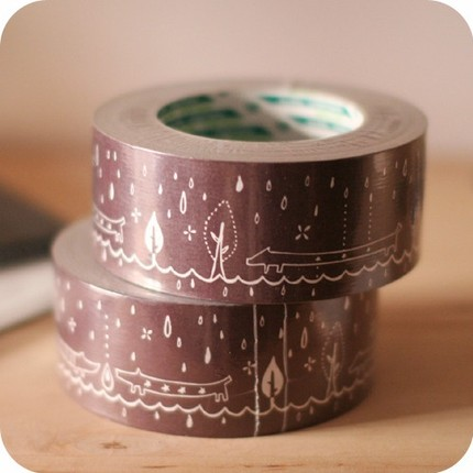 Rainy_stickertape