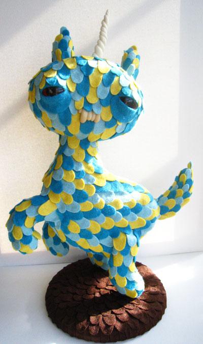 Blue+cat+creature