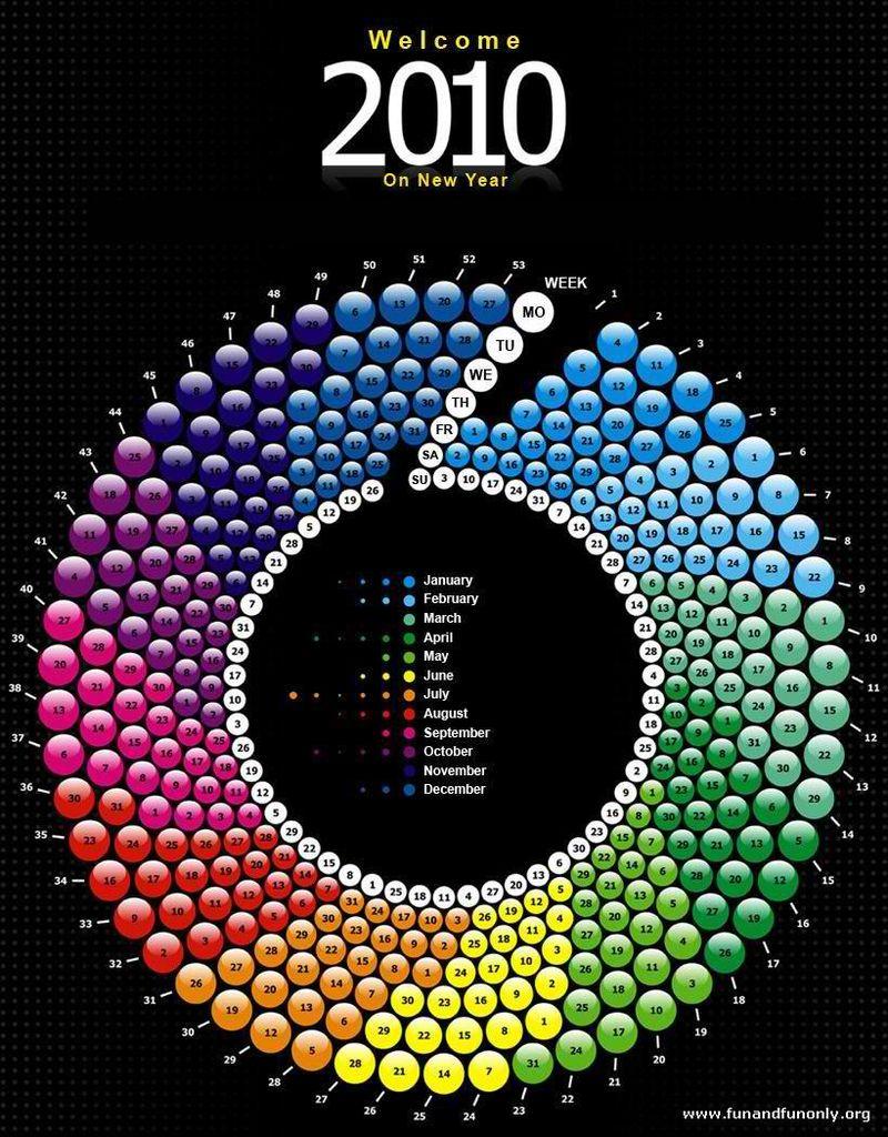 Unique+Calendar+of+2010
